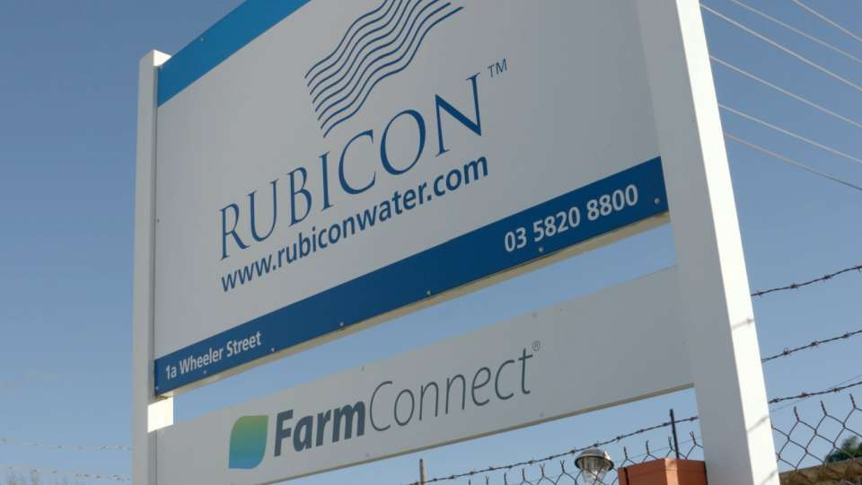 Rubicon Water - Greater Shepparton Great Thing Happen Here